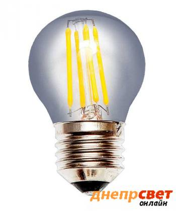 Лампа светодиодная Levistella LED G45 E27 4W 2700K FILAMENT CLEAN